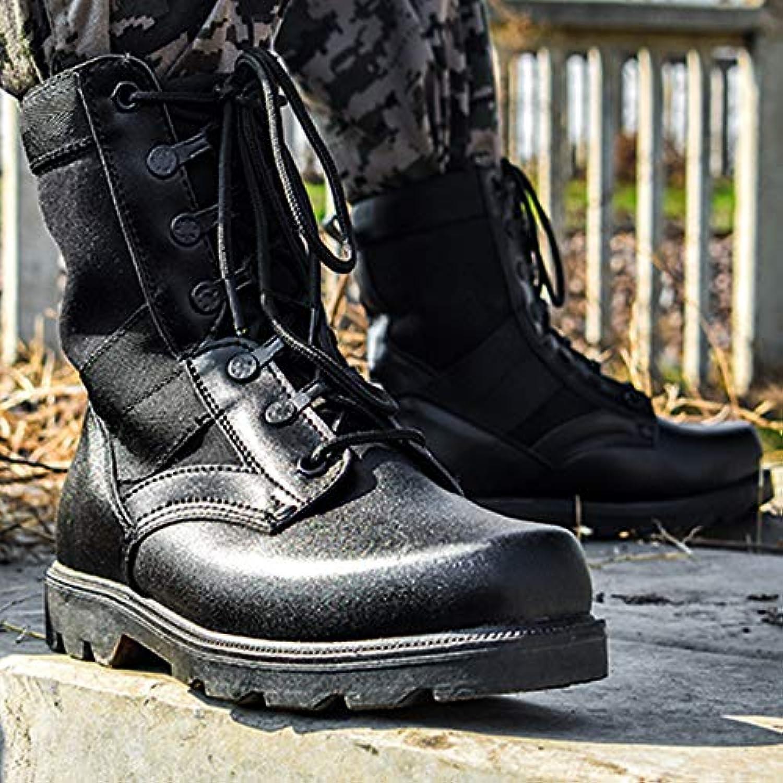 HCBYJ scarpa scarpa scarpa Combatti Stivali Militari, Stivali Tattici di Terra, Scarponi da Trekking all'aperto, combattimenti...   Molte varietà    Maschio/Ragazze Scarpa  4b5dd6