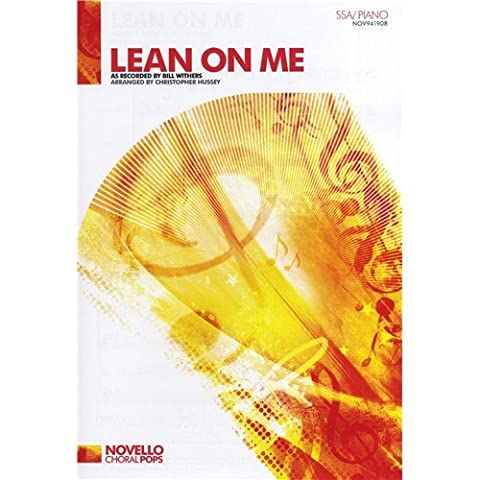Bill Withers: Lean On Me - SSA/Piano. Sheet Music for