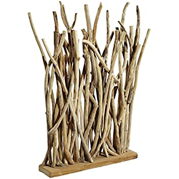 lioliving raumteiler aus bambus weiss white washed ber 2 meter hoch 400036 amazon. Black Bedroom Furniture Sets. Home Design Ideas