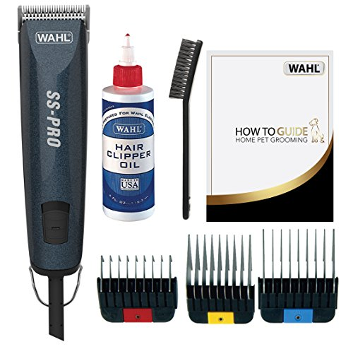 Wahl Dog Clippers Ss Pro Premium Dog Grooming Kit Full Coat Dog Grooming Clippers For All Coat Types Low Noise Animal Shop