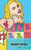 Secret Notes: Künstler wie Andy Warhol, Roy Liechtenstein und Keith Haring haben Pop Art so berühmt gemacht - das perfekte Notizbuch für alle Kunst-Fans.