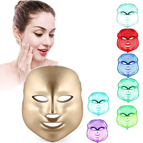 Weijin 7 couleur LED masque peau rajeunissement visage facial beauté peelings machine quotidien soins de la peau Accueil