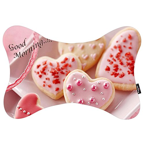 i-famuray-memory-foam-bone-shaped-neck-pillow-car-seat-travel-cushion-sweet-biscuit-love-good-mornin