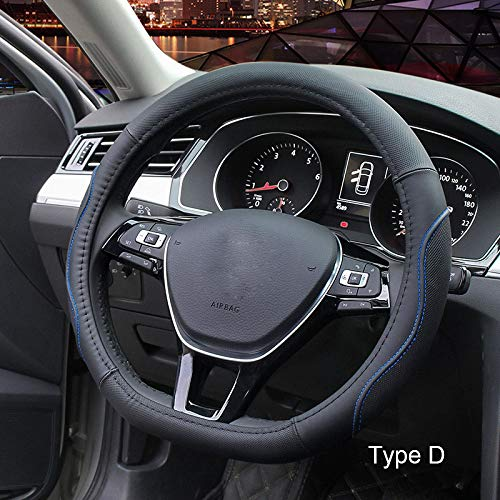Car steering wheel cover Lederlenkradabdeckung Auto Anti-Rutsch-Spezialauto Lenkradabdeckung,4