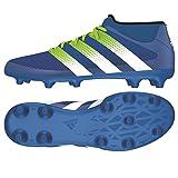 adidas Herren Ace Primemesh Fg/AG Terrain Souple Fußballschuhe, Blau (Shock WhiteShock Blue S16/Semi Solar Slime/FTWR White), 40 2/3 EU