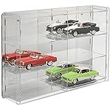 SORA vitrine de voitures 1/18 Modèle avec miroir panneau arrière