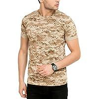 Elaborado Men's Round Neck Tshirt - Brown - S - EAIS5059BR1
