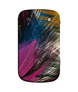 PrintVisa Designer Back Case Cover for BlackBerry Bold Touch 9900 :: BlackBerry Dakota :: BlackBerry Magnum (Feathers Cap of Feathers)