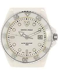 Swiss Eagle Reloj de cuarzo Man Dive 41 mm