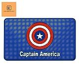#4: UniqOutlet Captain America Car Non-Slip Mat Mobile Phone Anti-Slip Pad Car Dashboard Magic Sticky Mat