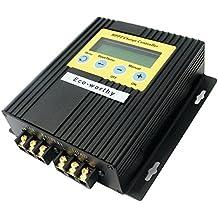 ECO-WORTHY 20A 12V 24 V Solar controlador de Carga Solar MPPT regulador de 15 -30% más potencia