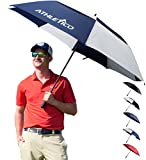 Athletico - Paraguas de golf con apertura automática,...