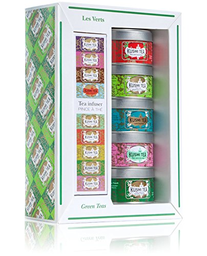 Kusmi Tea - Coffret Miniatures - Les Verts