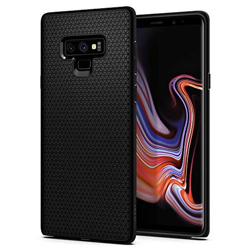 Spigen Samsung Galaxy Note 9 Hülle, Liquid Air Silikon Maßgeschneidert Passgenau Schutzhülle für Samsung Galaxy Note 9 Case Matte Black (599CS24580)