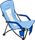 Best Beach Chairs - WEJOY Strong & Stable Mesh Back Folding Beach Review