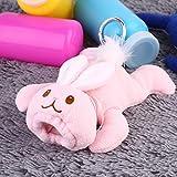 Babyflasche Hugger/Baby Feeder-Abdeckung Säuglingskleinkind separater Eingang Pflegeflaschenbeutel/Babyflaschenkasten Isolierung Warmhalteabdeckung (rosa-weiß)