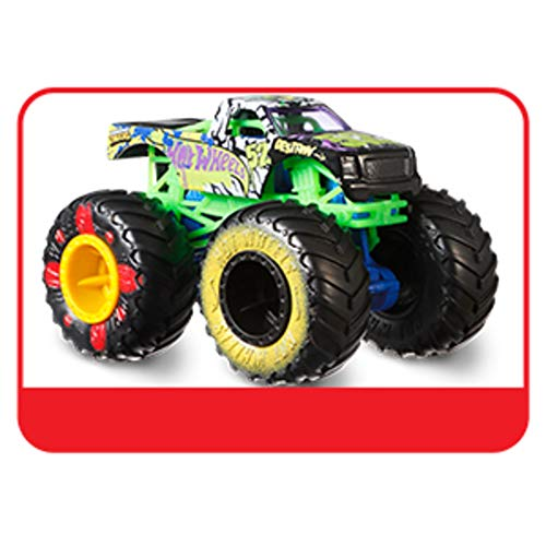 Hot Wheels - FYJ44 Monster Trucks 1:64 Die-Cast Auto, Zufällige Auswahl, Spielzeug ab 3 Jahren (Autos Monster-trucks)