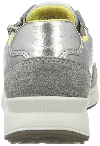 Superfit Merida Mädchen Sneakers Grau (Griffin Kombi 44)