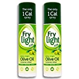 Frylight Virgen Extra 190ml Spray De Aceite De Oliva (Paquete de 2)