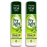 Frylight Extra Vergine Di Oliva 190ml Olio Spray (Confezione da 2)