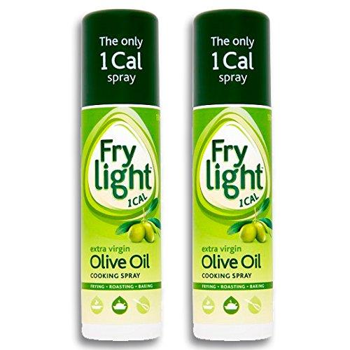 Frylight Olive Extra Vierge Pulvérisation D'Huile 190Ml - Paquet de 2