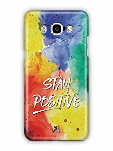 YuBingo Stay Positive Designer Mobile Case Back Cover for Samsung Galaxy J5 2016
