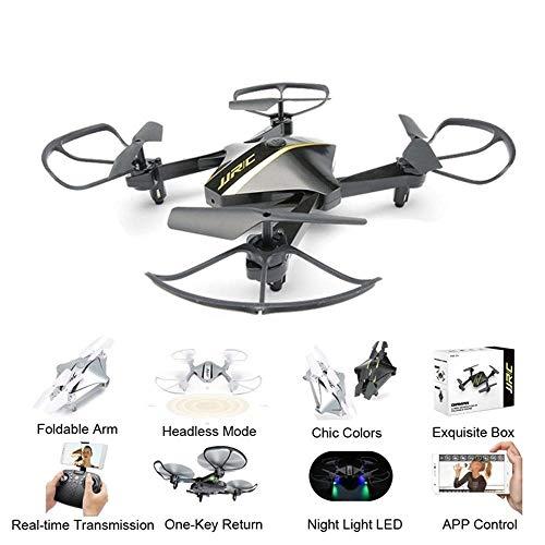 MaanZys WiFi FPV 720P Kamera Drohnen Faltbare G-Sensor Selfie Mini Drohne Quadcopter RTF RC Drohne in RC Hubschrauber Spielzeug (Flug 232)