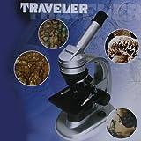 Traveller Mikroskop 40x - 1024x Vergrößerung mit Beleuchtung