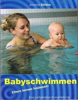 Babyschwimmen  Eltern lernen loslassen