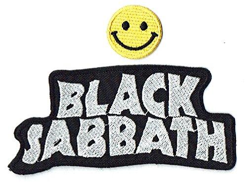BLACK SABBATH apliques bordados de hierro en parches por PATCH CUBE