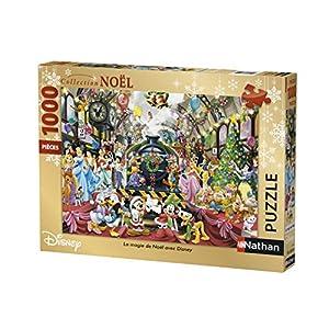 Nathan-Puzzle Magie de Navidad con Disney 1000Piezas, 87565
