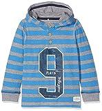 NAME IT Jungen Sweatshirt Nitesnon LS Top Mini Mehrfarbig (Campanula), 128 (Herstellergröße: 122/128)