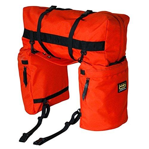 trailMAX Original Saddlebags, Satteltasche Western Packtasche, orange