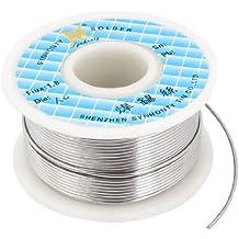 Sourcingmap a13072300ux0075 - Soldador de soldadura de diámetro 1mm estaño flujo carrete de alambre de plomo
