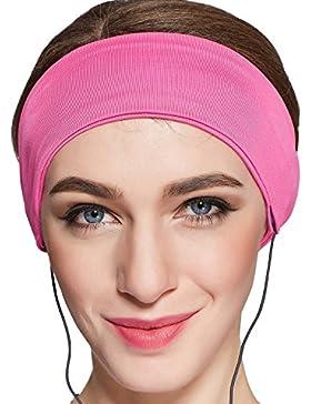 Antifaz para dormir,Auriculares para Dormir Máscara para Dormir 100% Anti-Luz Cómoda Agradable para la piel con...