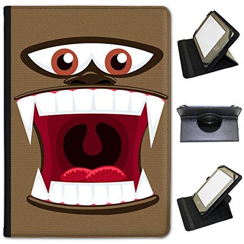 monster-faces-universal-kunstleder-folio-presenter-schutzhulle-tasche-mit-standfunktion-schwarz-ape-