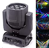 Led Moving Beam, Bee Eyes, 7x12w Full Color 4IN1 RGBW LED Moving Head Light, Piastra Lens può ruotare, con Zoom, Usa per Disco, Sala da ballo, KTV, Bar, Club, Party, Matrimoni