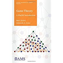 Game Theory: A Playful Introduction (Student Mathematical Library, Band 80)
