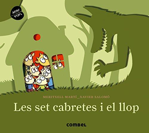 Les set cabretes i el llop (Mini Pops) por Meritxell Martí Orriols