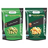 #6: Pozitiiv Crispy and Nutricious Flavored Foxnut (Pudina Masala & Peri Peri Makhana), (Pack Of 2)