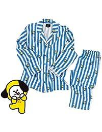 FANMURAN KPOP BTS Bangtan Boys BT21 Versión de Dibujos Animados Jung JOOK Jimin V Same Pijama