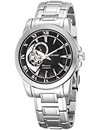 Reloj Seiko Premier Ssa215j2 Hombre Negro