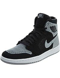 new style 3adcb b9cda Nike Herren Air Jordan 1 Ret Hi Flyknit Bg Fitnessschuhe