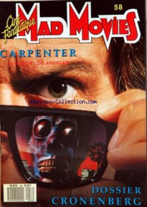 mad-movies-cine-fantastique-no-58-du-31-12-2099-carpentier-invasion-los-angeles-dossier-cronenberg