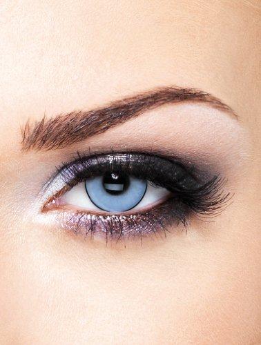 Edit farbige Blaue Manson Kontaktlinsen für braune Augen ohne Stärke für Halloween und Karneval
