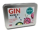 The Gin In A Tin Co. Set zur Herstellung von Gin, 3 Gin-Sorten mit Kräutern in Ihrem Zuhause in weniger als einer Woche,inklusive Rezepten und Kräutern