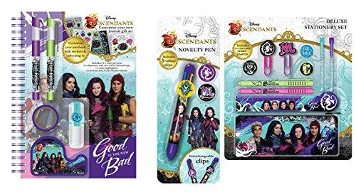 MEGA SET WHICH INCLUDES Disney Descendants Customising Journal Set,Deluxe Stationery Set and Novelty Pen