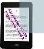 4x Amazon Kindle Paperwhite 2 (2013) ENTSPIEGELNDE Displayschutzfolie Bildschirmschutzfolie von 4ProTec - Nahezu blendfreie Antireflexfolie