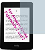 4x Amazon Kindle Paperwhite 2  ENTSPIEGELNDE Displayschutzfolie Bildschirmschutzfolie von 4ProTec - Nahezu blendfreie Antireflexfolie