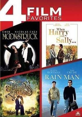 4 Film Favorites - Moonstruck/When Harry Met Sally/The Princess Bride/Rain Man (Dvd) (Rain Man-dvd)